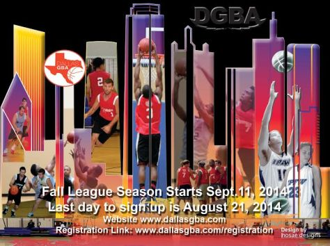 2014 Fall Season Registration